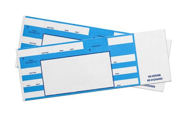 青いチケット